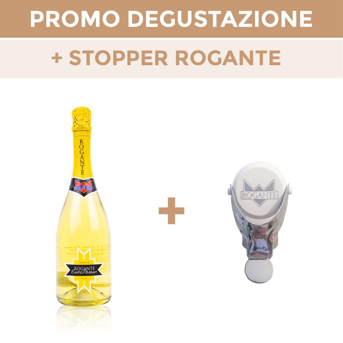 """Promo Verkostung Rogante + Schaumwein """"ExoticPassion"""""""