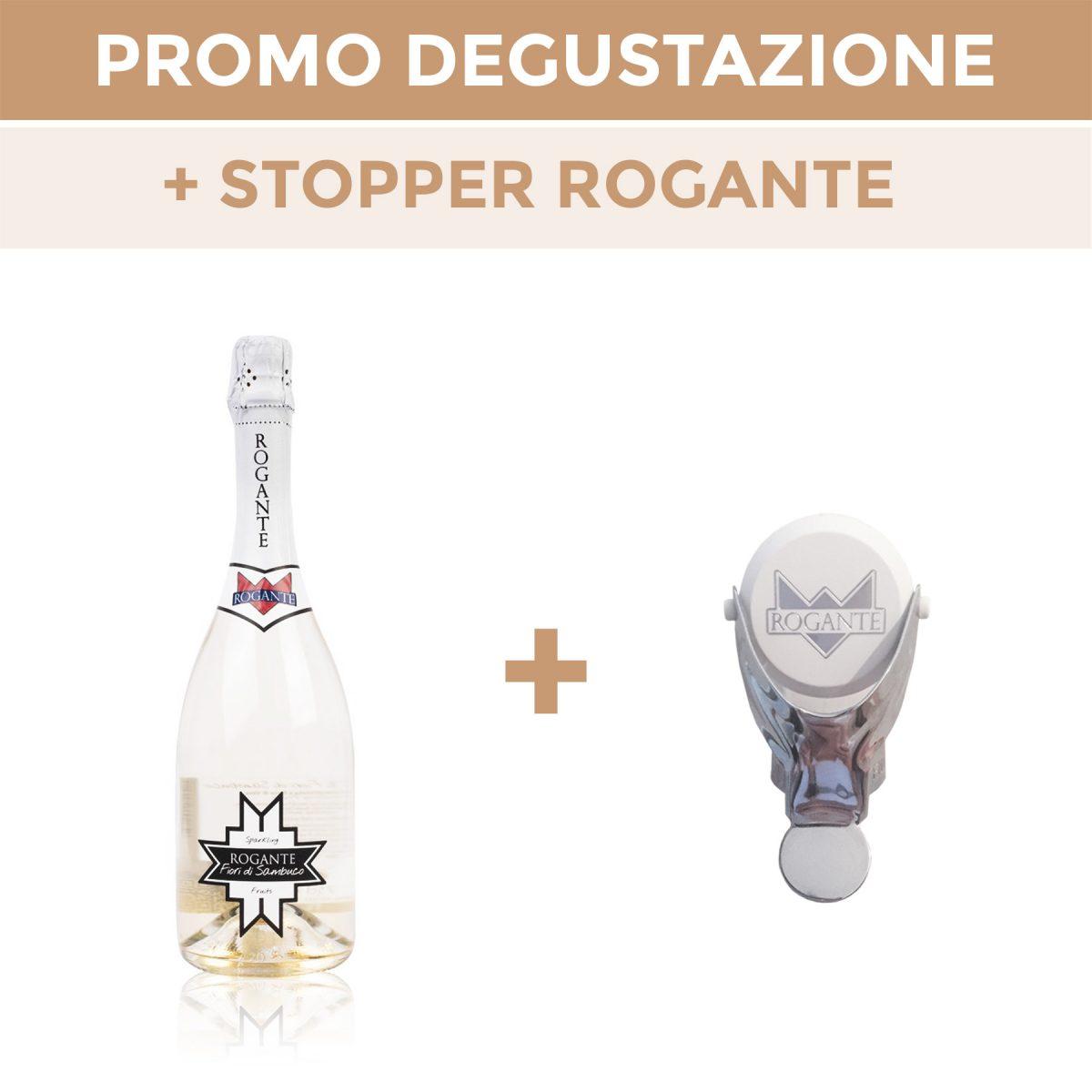"""Promo Verkostung Rogante + Schaumwein """"Holunderblüten"""""""