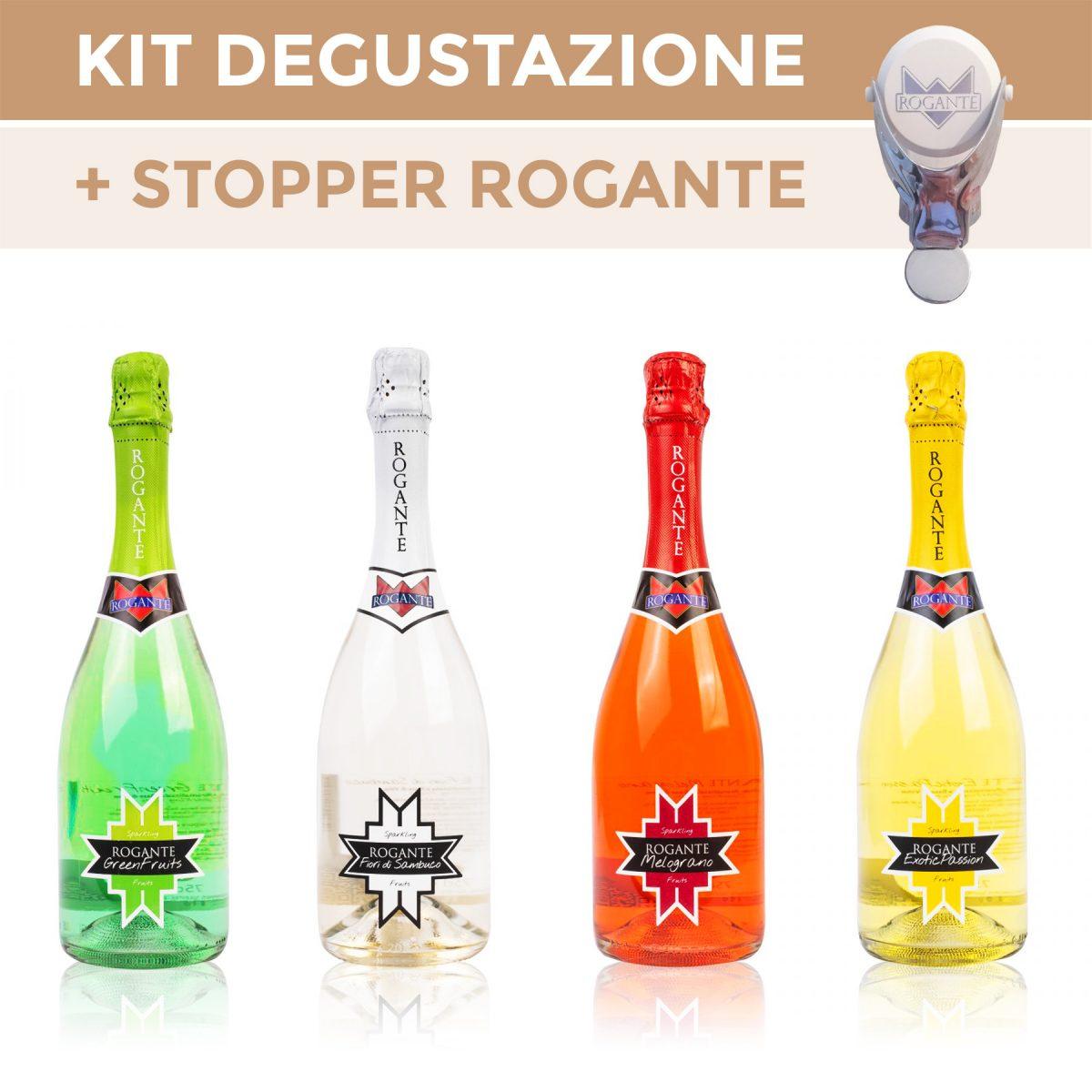 Kit Degustazione + Stopper