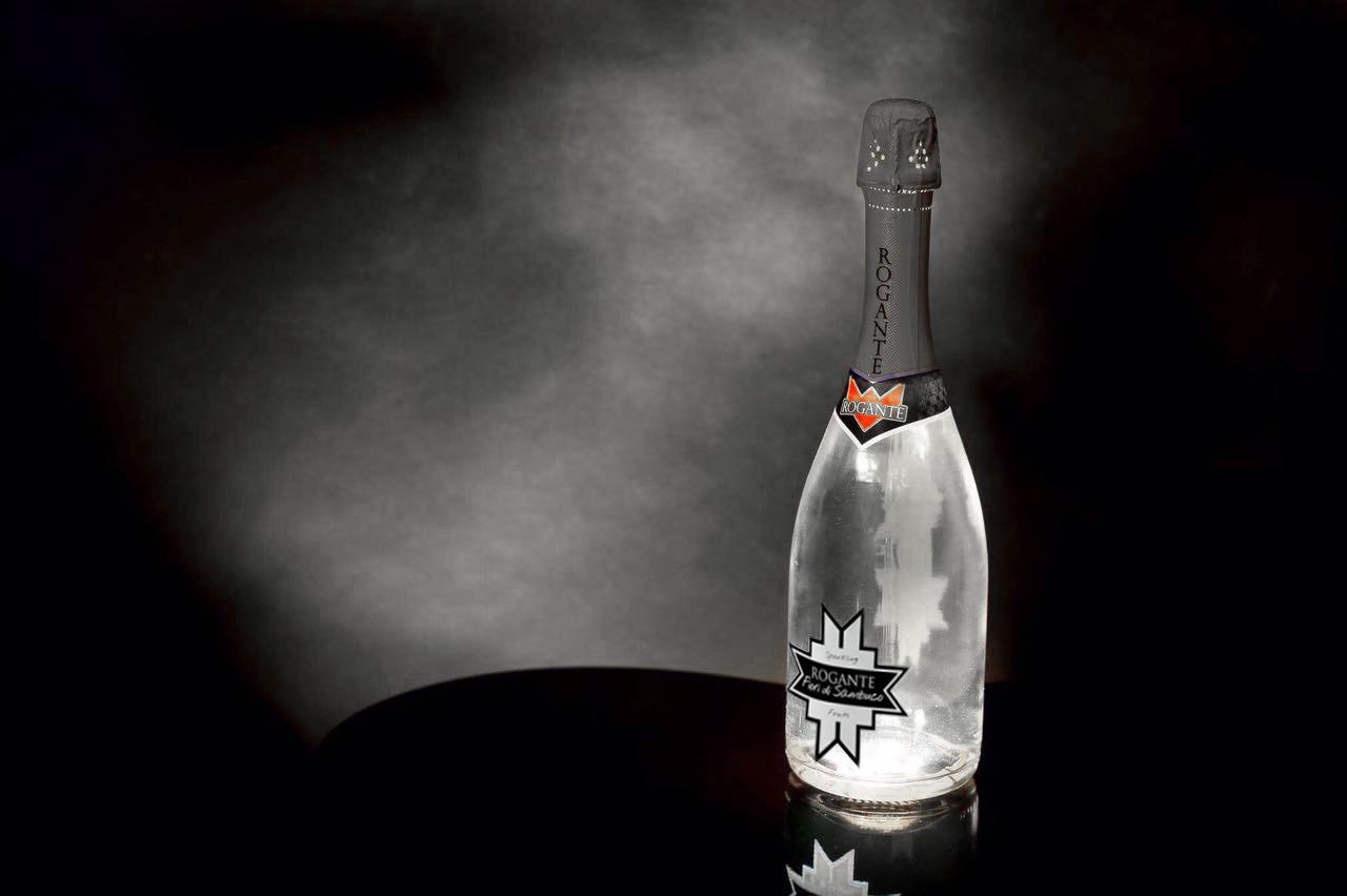 ILLUMINATED BOTTLE – ElderFlower Sparkling Wine