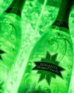 Spumantiera illuminata per 3 bottiglie